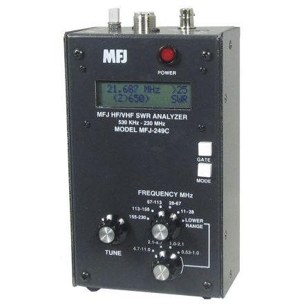 MFJ-249D - HF/VHF/220MHz SWR Anlyzr ,no meter