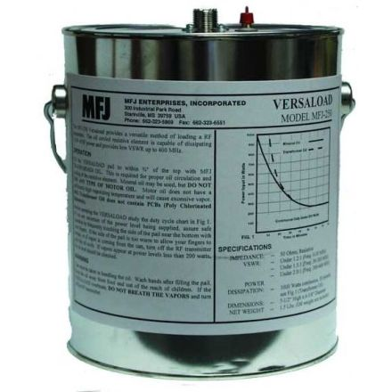 MFJ-250X - Dummy Load Can type - 1KW  with out Oil