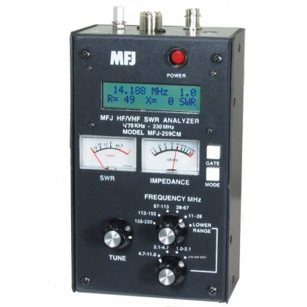 DISCONTINUED MFJ-259CM - Like 259C lower band - 470-940Khz