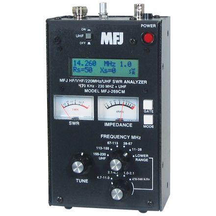 DISCONTINUED MFJ-269CM - Like 269C lower bd-470-940Khz
