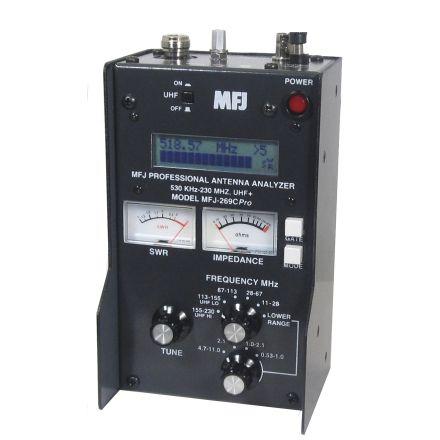 MFJ269CPro - .530-230Mhz + 430-520Mhz Analyzer