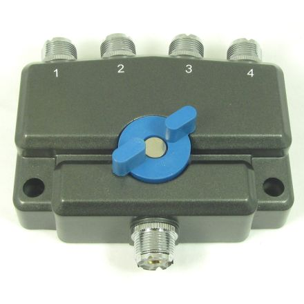 MFJ-2704* - 900Mhz, 1.5KW,4-pos Ant.Switch-SO-239