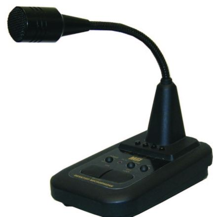 MFJ-297* - Desk Mic with Flexible boom