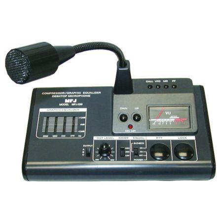 MFJ-299* - Deluxe Desk Top Microphone/EQ