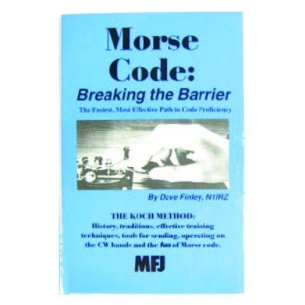 MFJ-3400 - Morse Code: Breaking Barrier book
