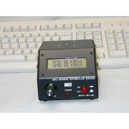 MFJ-452 - CW Keyboard/Kyr w/LCD disp, kyb