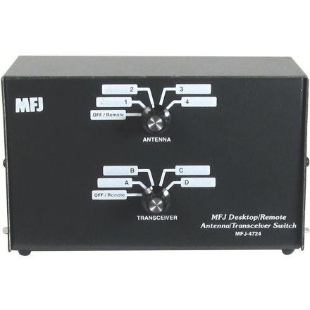 B Grade MFJ-4724 - 4-P.Desk/Remote Ant/Xcvr Sw1.8-150Mhz