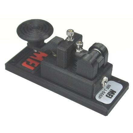 MFJ-566P - Mini Key Paddle with Plastic Base