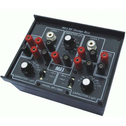 MFJ-5904 - RF Design Box,Var Resistor/Cap Tester