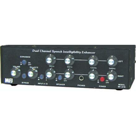 MFJ-618 - Dual Ch Speech Intelligibility Enhancer