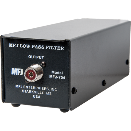 MFJ-704 - Legal Limit Low Pass Filter