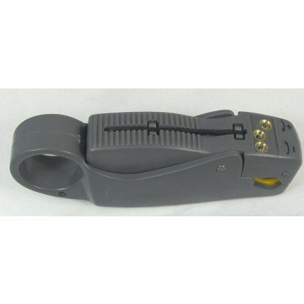 DISCONTINUED MFJ-7404 - Coax Cable Stripper-RG8/RG11/RG213
