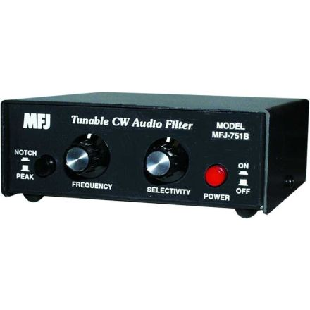 MFJ-751B - Super Tunable CW Audio Filter