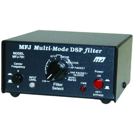 DISCONTINUED MFJ-781 - DSP Filter for all Multimodes