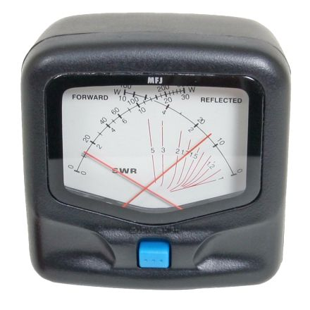 MFJ-842* - VHF/UHF 150W X-needle SWR/Watt. Mtr