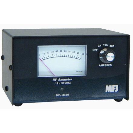 MFJ-834H - Hi PwrIn-Line RF Ammeter,1-30Mhz