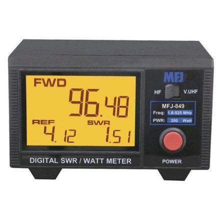 MFJ-849 - Digital Watt/SWR,1.8-6 Mhz,200W