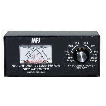MFJ-862 - Cross-Ndl Mtr. 144-220/440 MHz