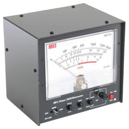 MFJ-868B - Giant HF+6M Peak/Reading SWR/Wattmeter