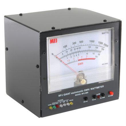 MFJ-869 - Giant Automatic SWR/Wattmeter