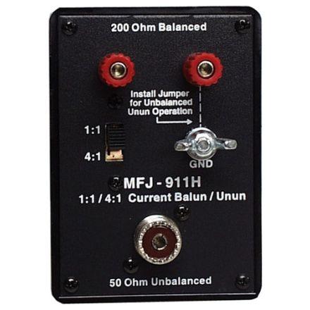 MFJ-911H - Switchable Balun 1:1 to 4:1,1.8-30 Mhz