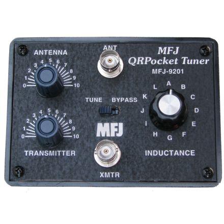 MFJ-9201 - 80-10M QRP Antenna Tuner - 25 watts