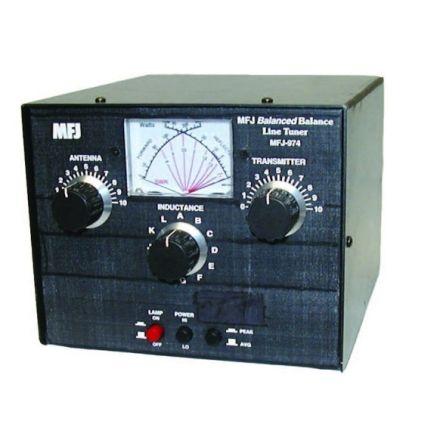 B Grade MFJ-974B - Balanced Line Tuner - 300 W 6-80M