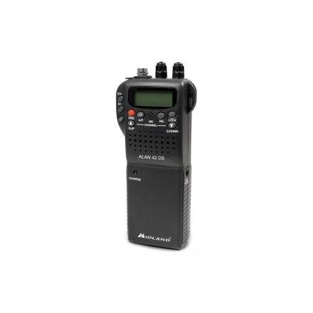 Midland 42DS UK Handheld CB Radio with Digital Squelch
