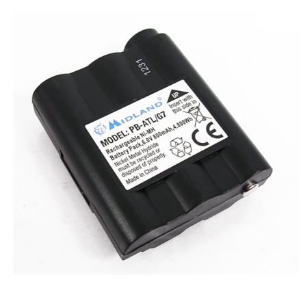 Midland PB-ATL/G7 - Replacement Battery Pack (for G7/Atlantic Handhelds)