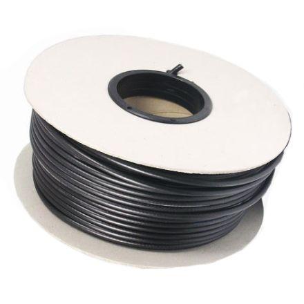 MINI8 (50 OHM) Coax Cable (in black) - 50m Drum