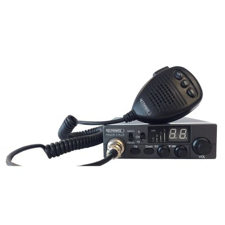 B Grade Moonraker Minor II Plus 80 Ch 12v/24v CB Mobile Transceiver