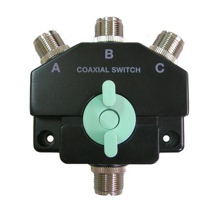 MYDEL CO-301AN - Heavy Duty 3 Way SO239 Coax Switch