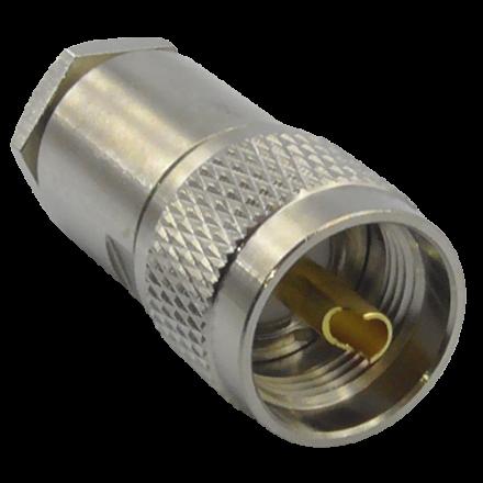 PL259 Premium Compression Plug (10mm) (For F-Zero/W103/LMR400)