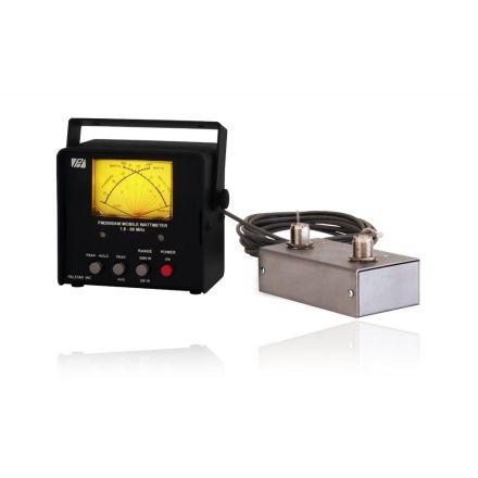 Palstar PM2000AM 2000W Mobile Wattmeter (Remote Coupler)