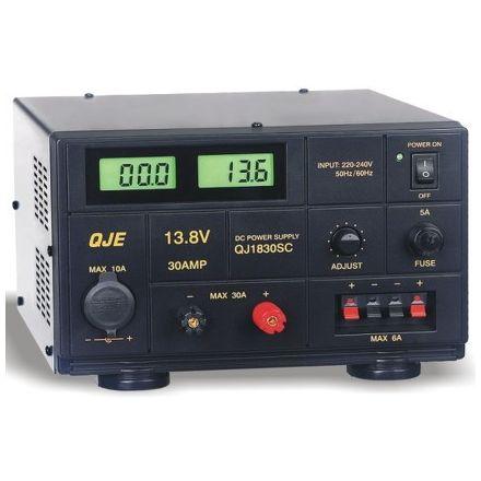 SOLD! B Grade QJE QJ1830SB (30AMP) Linear Power Supply Unit