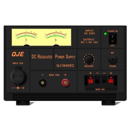 QJE QJ1840SC (40 AMP) LINEAR POWER SUPPLY
