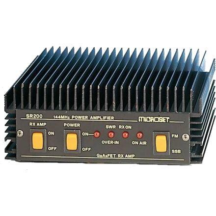 DISCONTINUED Microset SR-200 - 2M (200W) Linear Amplifier