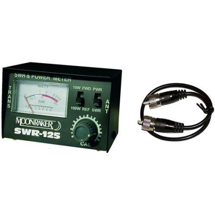 SWR-125 SWR/PWR Meter Plus 50cm RG58 Patch Lead