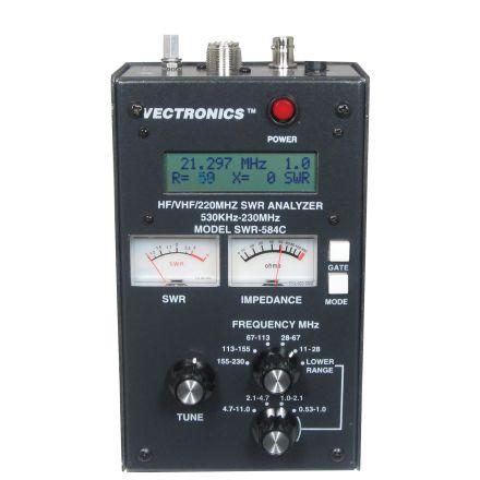 Vectronics SWR-584C - HF/VHF/220Mhz SWR Analyzer