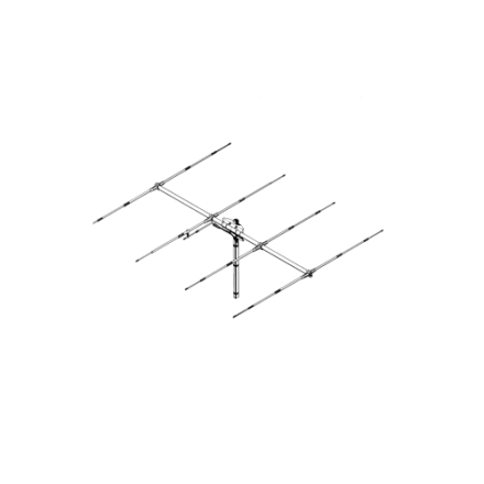 B Grade Sirio SY-4 - 4 Element Yagi Beam Antenna (26.5-30 MHz Tunable)