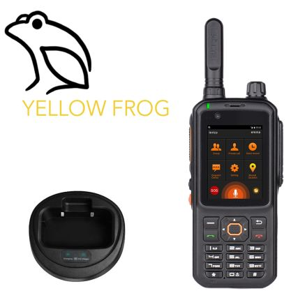 Inrico T320 + SIM + Yellow Frog Service + 10 FREE Channels + 1 Private Channel