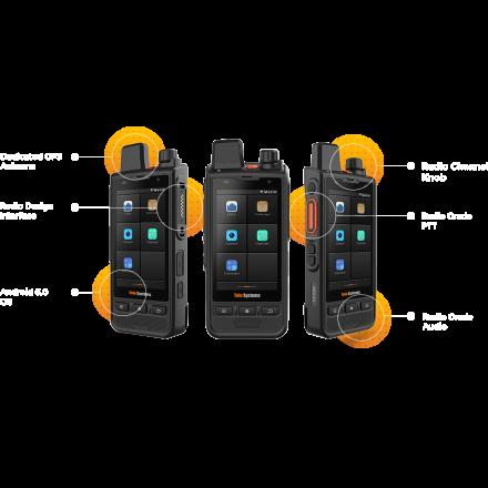 Telo TE590 3G/4G Network Android  handheld Radio