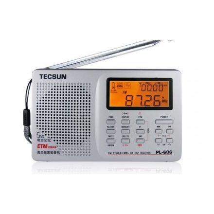 DISCONTINUED Tecsun PL-606 Portable Receiver
