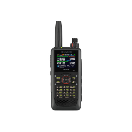 SOLD! Used Kenwood TH-D74E VHF/UHF Dual Band Handheld with GPS