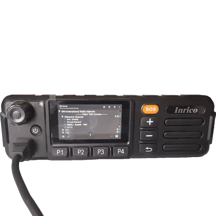 DISCONTINUED Inrico TM-7 3G/WiFi Network Mobile radio