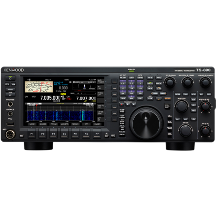 Kenwood TS-890S HF/50MHz/70MHz Transceiver (With free GPA 80 HF vertical antenna)~