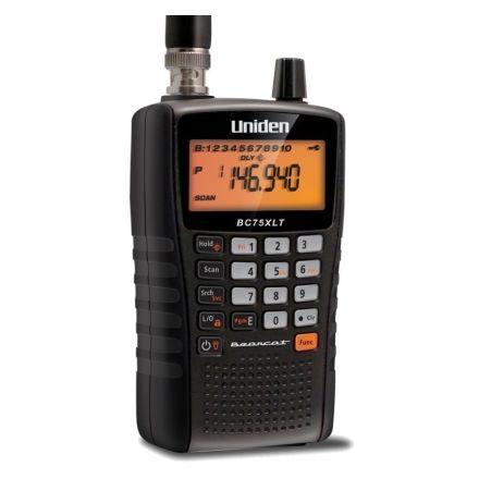 Uniden UBC-75XLT  25 - 88mhz - 108-174mhz 400-512 Handheld Scanner