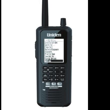 Uniden Bearcat UBCD-3600XLT (NXDN VERSION) Digital Handheld Scanner