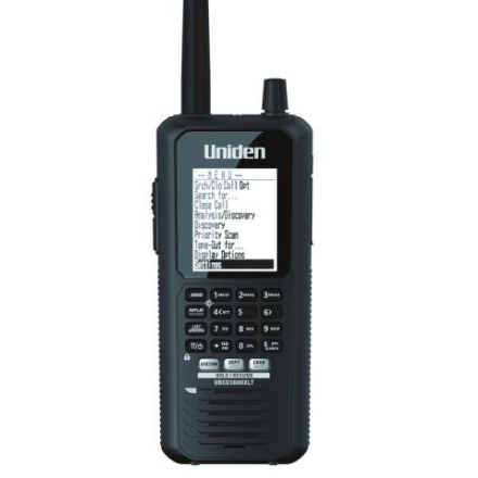 B Grade Uniden Bearcat UBCD-3600XLT (NXDN VERSION) Digital Handheld Scanner