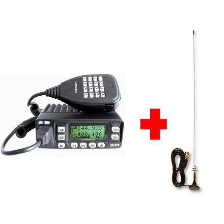Leixen VV-898 10W Dual Band Mobile + MRM-100 Micro Mag